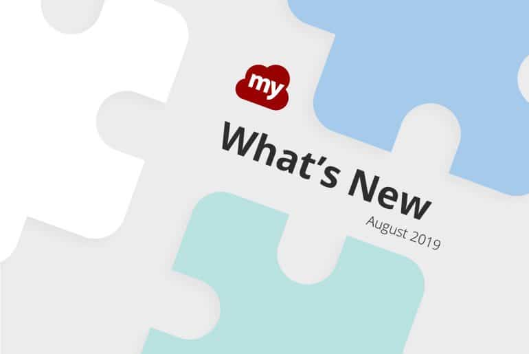 What's New ~ August