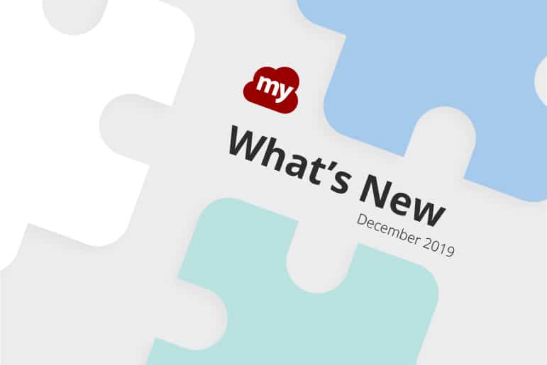 What's new for December 2019