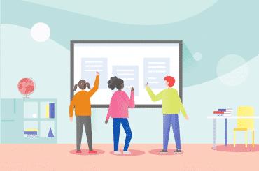 數位白板有助於提高學生課堂參與度