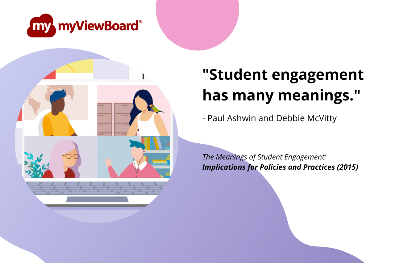 Engagement in a Virtual Classroom - What is Student Engagement