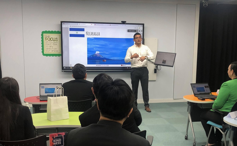 Học tập kết hợp với myViewBoard Classroom