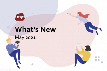 What's New with myViewBoard ~ May